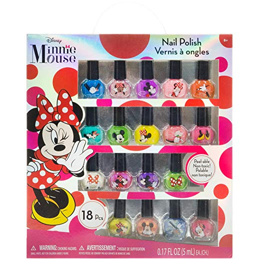 TownleyGirl Minnie Mouse 18 Pack Nail Polish Set